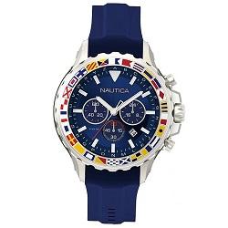 ef47d73252d Relógio Nautica Masculino Borracha Azul - NAPBLI001
