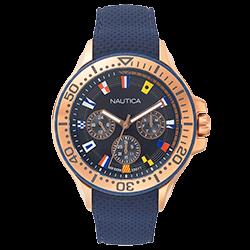 3e8c47bb0cb Relógio Nautica Masculino Borracha Azul - NAPAUC008