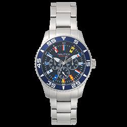 d7419f13cae Relógio Nautica Masculino Aço - NAPWHC001