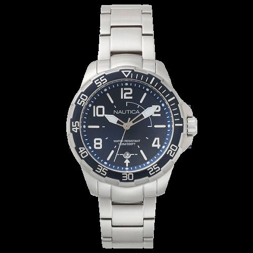 9a5a01c5bf5 Relógio Nautica Masculino Aço - NAPPLH004