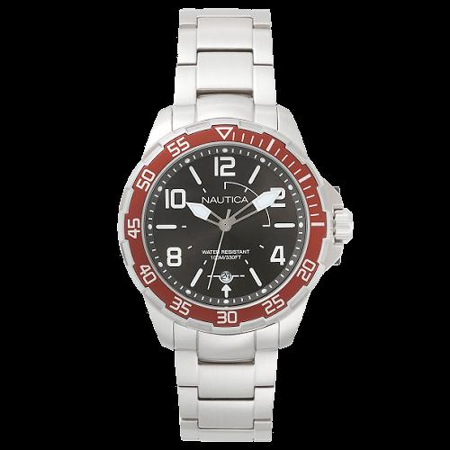 fe59e6f402c Relógio Nautica Masculino Aço - NAPPLH005