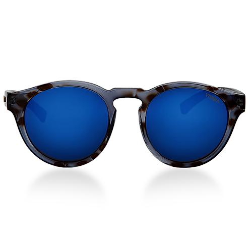 Vivara Acessórios Óculos de SolÓculos de sol redondo em acetato tigre cinza.  Passe o mouse para ampliar 40f1e61782