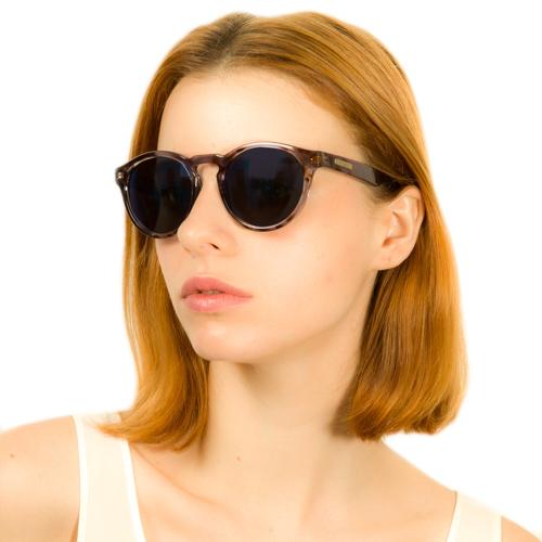 Vivara Acessórios Óculos de SolÓculos de sol redondo em acetato tigre cinza.  Passe o mouse para ampliar. Confira o estoque deste produto nas lojas d63cc9c264