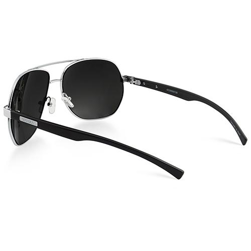 ... SolÓculos de sol aviador em acetato preto. Passe o mouse para ampliar.  Confira o estoque deste produto nas lojas eb88636f7d