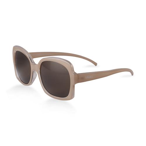 Óculos de Sol Quadrado em Acetato Nude 9b66b7f1a1