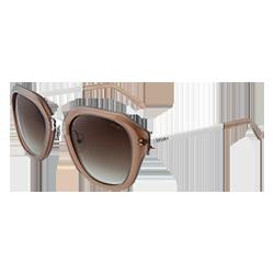 21dbcd983e072 Óculos de Sol Aviador em Acetato Nude