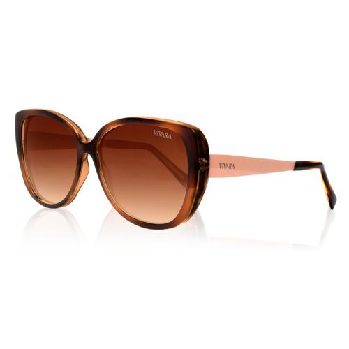Óculos de Sol Gatinho Marrom e Salmão e5ed70739f