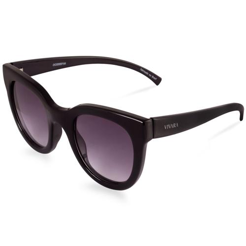 d093bfd6c Óculos de Sol Gatinho em Acetato Preto