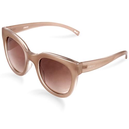 0ec0115ccb711 Óculos de Sol Gatinho em Acetato Nude