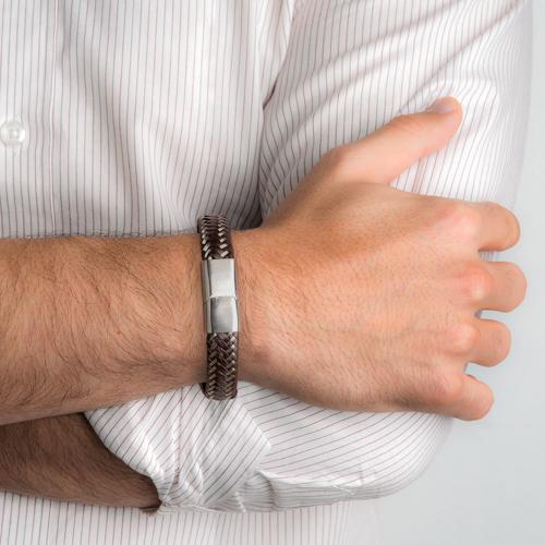5995091a500 ... MenPulseira lifestyle skin masculina - coleção lifestyle for men. Passe  o mouse para ampliar. Confira o estoque deste produto nas lojas