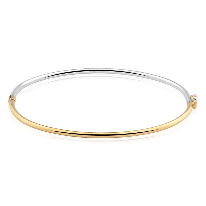 1435435a2a6aa Pulseira Ouro Amarelo e Ouro Branco - Colecao Bracelete