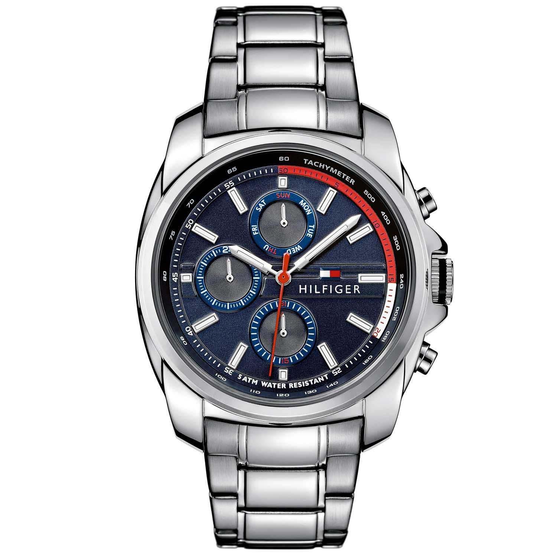 59e2aac2aa7 Relógio Tommy Hilfiger Masculino Aço - 1791081