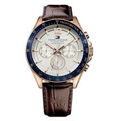 df6d62ecb7e Relógio Tommy Hilfiger Masculino Couro Marrom - 1791118