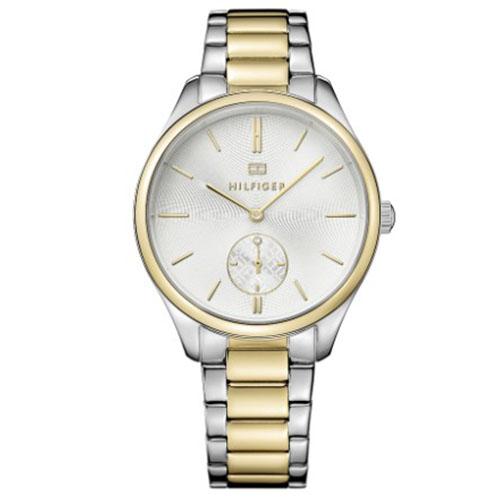 528b20f6fd2 Relógio Tommy Hilfiger Feminino Aço Prateado e Dourado - 1781577