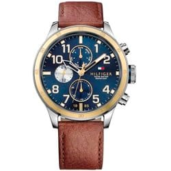 cb31d8361 Relógio Tommy Hilfiger Masculino Couro Marrom - 1791137