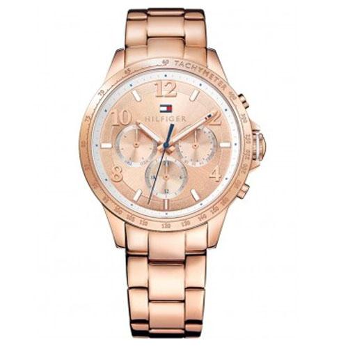84a13e127d5 Relógio Tommy Hilfiger Feminino Aço Rosé - 1781642