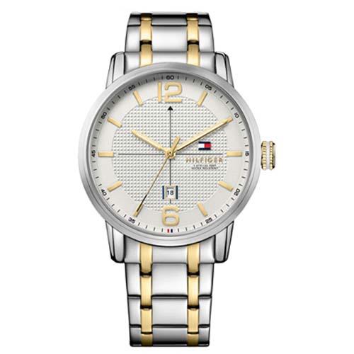 ee97ea101ab Relógio Tommy Hilfiger Masculino Aço Prateado e Dourado - 1791214