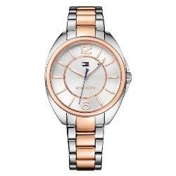 dcb0fdf02db Relógio Tommy Hilfiger Feminino Aço Prateado e Rosé - 1781696