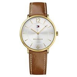4024fa9f855 Relógio Tommy Hilfiger Masculino Couro Marrom - 1710353