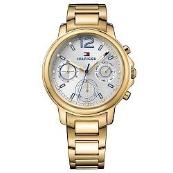 6ca7158561e Relógio Tommy Hilfiger Feminino Aço Dourado - 1781742