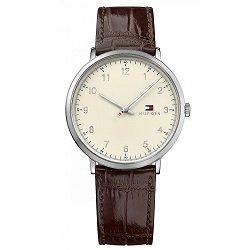 c826d8013b0 Relógio Tommy Hilfiger Masculino Couro Marrom - 1791338