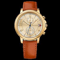 e63d5f04ffd Relógio Tommy Hilfiger Feminino Couro Marrom - 1781818