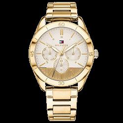 86f15fcdbd0 Relógio Tommy Hilfiger Feminino Aço Dourado - 1781883