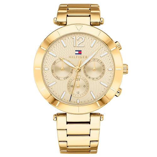 c3c27d7a968 Relógio Tommy Hilfiger Feminino Aço Dourado - 1781878