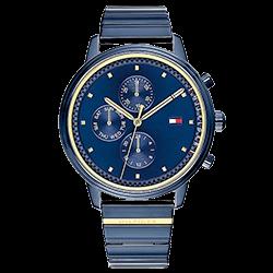 8b7e09a0749 Relógio Tommy Hilfiger Feminino Aço Azul - 1781893