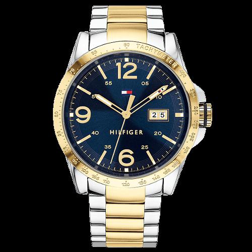 3c4baed93db Relógio Tommy Hilfiger Masculino Aço Prateado e Dourado - 1791453