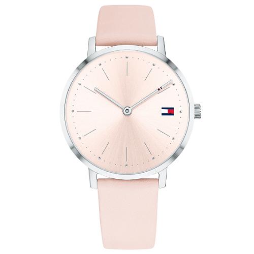 4883e91c9 Relógio Tommy Hilfiger Feminino Couro Rosa - 1781931