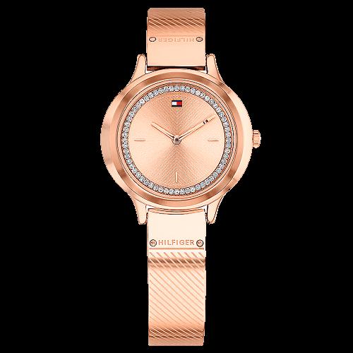 e47a87354 Relógio Tommy Hilfiger Feminino Aço Rosé - 1781911
