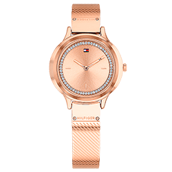 858dfdb7c59 Relógio Tommy Hilfiger Feminino Aço Rosé - 1781911