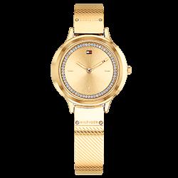 aedc1697578 Relógio Tommy Hilfiger Feminino Aço Dourado - 1781910