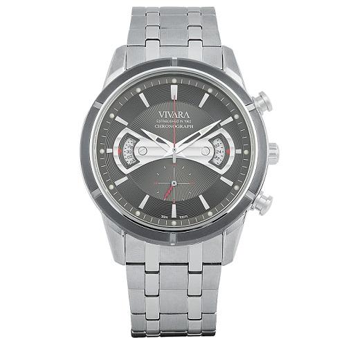 05ac646e71a Relógio Vivara Masculino Aço - DS11698C-1