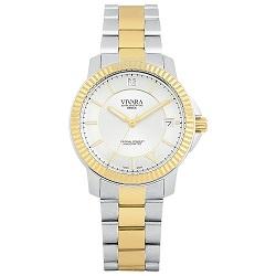 f485040de1f Relógio Vivara Feminino Aço Prateado e Dourado - DS12428R2A-5