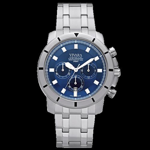 9573da631f6 Relógio Vivara Masculino Aço - DS13148R0C-1
