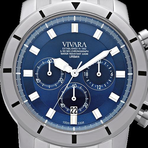 95c3fa65f72 Relógio Vivara Masculino Aço - DS13148R0C-1