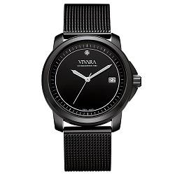 f1c33bacd99 Relógio Vivara Feminino Aço Preto - DS13064R0A-1