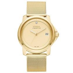 b3324549b88 Relógio Vivara Feminino Aço Dourado - DS13064R0E-1