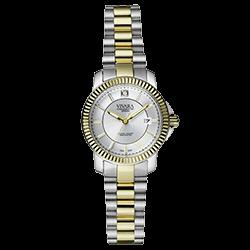 a94a5420142 Relógio Vivara Feminino Aço Prateado e Dourado - DS12428R2A-5