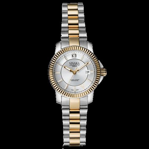 1061f515576 Relógio Vivara Feminino Aço Prateado e Rosé - DS12428R2B-6