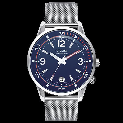 7eda4f02396 Relógio Vivara Masculino Aço - DS13274R1C-1