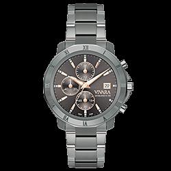 9fb3dc183f0 Relógio Vivara Feminino Aço Chumbo - DS13114R0K-1