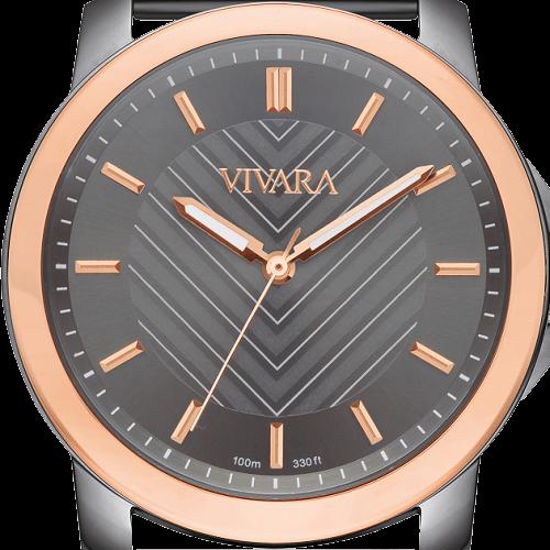 efd48ab9b67 Relógio Vivara Feminino Aço Chumbo - DS13499R0A-2