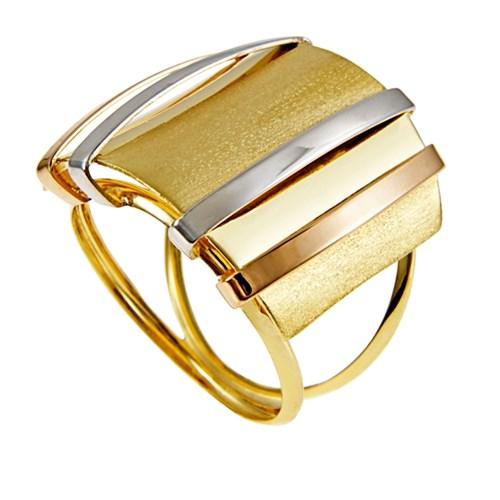 a043349ba1e Anel Ouro Amarelo Ouro Branco e Ouro Rosé - Colecao Gold Color