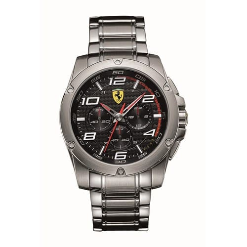 6d6cd3aa616 Relógio Scuderia Ferrari Masculino Aço - 830035