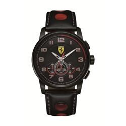 06bda25931b Relógio Scuderia Ferrari Masculino Couro Preto - 830059