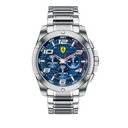 38f831f65d9 Relógio Scuderia Ferrari Masculino Aço - 830036
