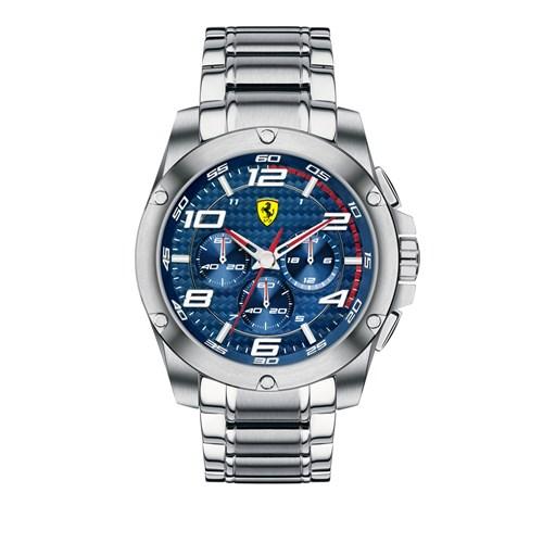 55fffb8847b Relógio Scuderia Ferrari Masculino Aço - 830036